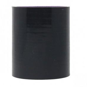 """Mangote Preto em Silicone Reto Liso 3"""" Polegadas (76mm) * 76mm - Epman"""