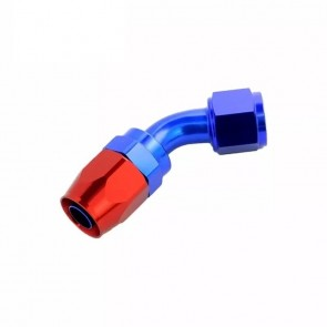Conexão Epman 8AN 45 Graus- Azul / Vermelha