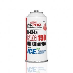 A/C PRO R-134a PAG 150 Carga de Óleo com ICE 32 e Aprimorador de Desempenho Alta Viscosidade PC-3PS 85g
