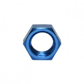Porca para Bulkhead 3AN / AN3 - Azul