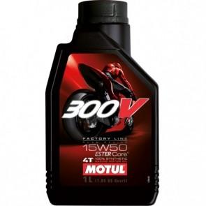 Óleo Motul 300V Factory Line Road Racing 15W50 1 Litro