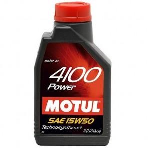 Óleo Motul 4100 POWER (Semi-sintético) 15W50 1L