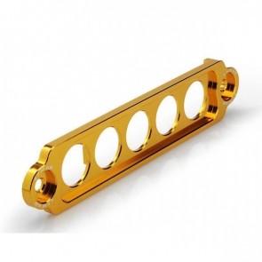 Fixador de Bateria Longo Epman para Honda em Alumínio - Dourado