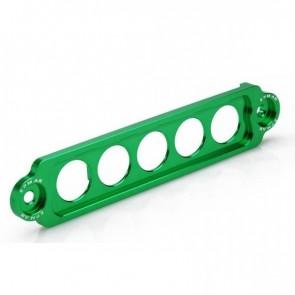 Fixador de Bateria Longo Epman para Honda em Alumínio - Verde