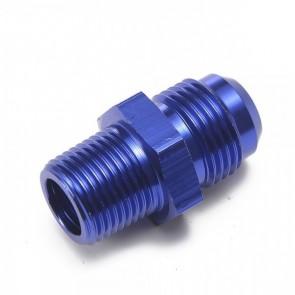 """Niple Adaptador 3/8"""" NPT para 8AN - Azul"""
