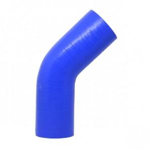 """Mangote Azul em Silicone 45º 2,5"""" Polegadas (63mm) * 120mm - Epman"""