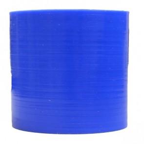 "Mangote Azul em Silicone Reto Liso 2,75"" Polegadas (70mm) * 76mm - Epman"