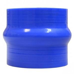"""Mangote Azul em Silicone Reto 3"""" Polegadas (76mm) * 76mm - Epman"""