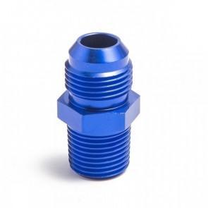 """Niple Adaptador 3/8"""" NPT para 10AN - Azul"""