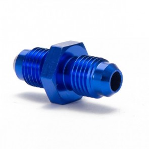 Niple Adaptador 4AN Macho para 4AN Macho - Azul