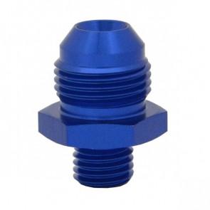 Niple Adaptador M12*1.5 Métrico para 8AN - Azul