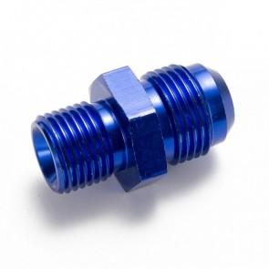 Niple Adaptador M16*1.5 Métrico para 8AN - Azul