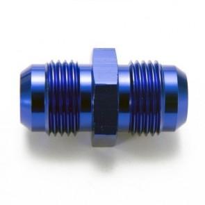 Niple Adaptador 8AN Macho para 8AN Macho - Azul