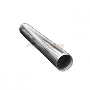 "Tubo em Aluminio Reto 3"" polegada x 600mm"