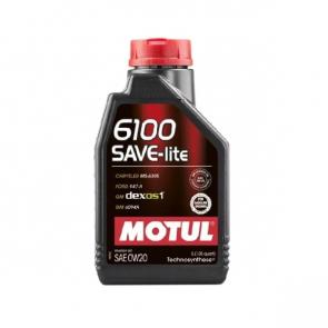 Óleo Motul 6100 (Semi-sintético) 0w20 SAVE-lite - 1L