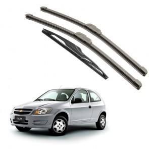 Kit Palhetas Dianteira e Traseira para GM Chevrolet Celta 2000 A Atual