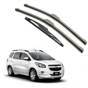 Kit Palhetas Dianteira e Traseira para GM Chevrolet Spin 2012 A Atual