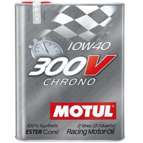 Óleo Motul 300v CHRONO 10W40 2L (100% Sintético p/ carros de competição)
