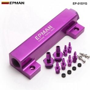 Flauta Universal para Sistema de Vácuo 6 Portas Epman - Roxo