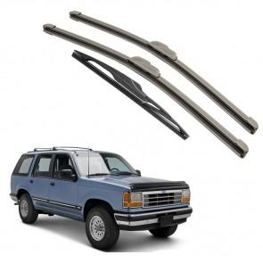 Kit Palhetas Dianteira e Traseira para Ford Explorer 1991 A 2000