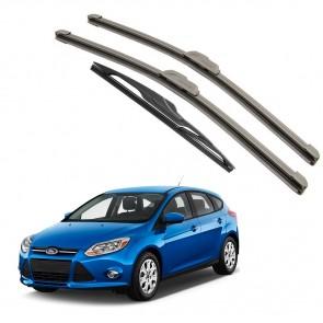 Kit Palhetas Dianteira e Traseira para Ford Focus Ano 2014 A Atual
