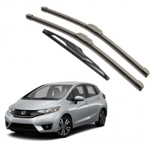 Kit Palhetas Dianteira e Traseira para Honda New Fit 2015 A Atual