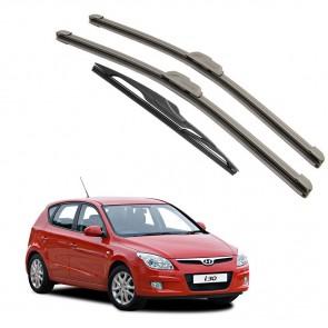 Kit Completo Palhetas para Hyundai i30 Ano 2008 2009 2010 2011 2012