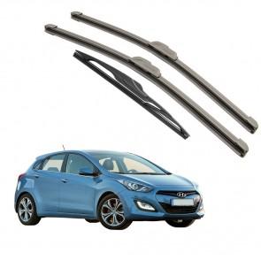 Kit Palhetas Dianteira e Traseira para Hyundai I30 2013 A Atual