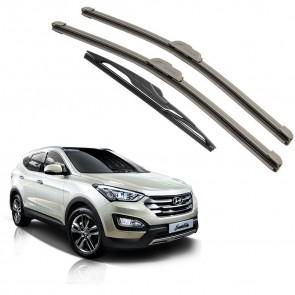 Kit Palhetas Dianteira e Traseira para Hyundai Santa Fé 2014 A Atual