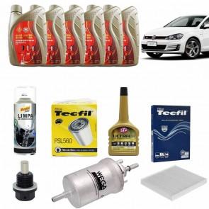 Kit Revisão + Troca de Óleo para Golf TSI GTi 2.0 MK7