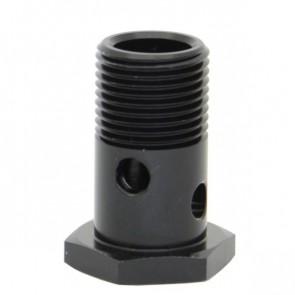 Parafuso Simples Curto 33,2mm para Banjo rosca UNF 3/4 - Preto