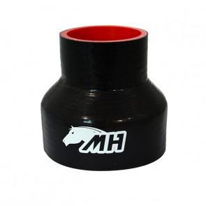 """Mangote em Silicone Redutor Reto 4"""" para 2-1/2"""" polegadas (102mm par 63mm) x 100mm"""