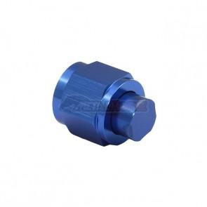 Tampão AN Cônico Fêmea 8AN / AN8 - Azul