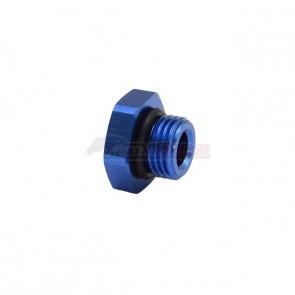 Tampão para Rosca 6AN / AN6 - Azul
