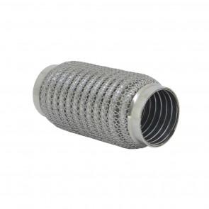 """Tubo flexível para Escapamentos 2"""" (Comprimento 150mm) - Inox"""
