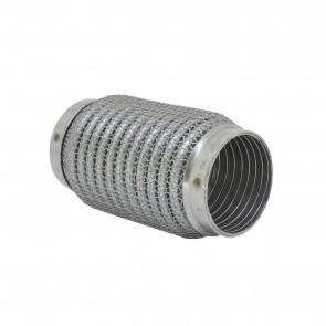 """Tubo flexível para Escapamentos 2-1/2"""" (Comprimento 150mm) - Inox"""