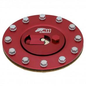 Bocal de Tanque de Combustivel D.E 139mm - Vermelho