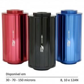 Filtro de Combustível Linha Street M - 8AN 10AN 12AN - 30, 70 e 150 Micra - Preto, Azul e Vermelho