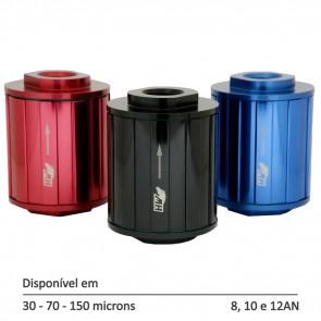 Filtro de Combustível Linha Street P - 8AN 10AN 12AN - 30, 70 e 150 Micra - Preto, Azul e Vermelho