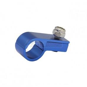 Fixador de Mangueira c/ Porca Travante 6AN / AN6 - Azul