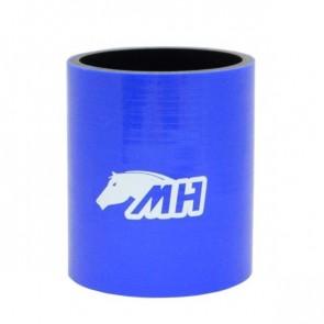 """Mangote em Silicone Reto 3"""" polegadas (76mm) x 100mm - Azul"""