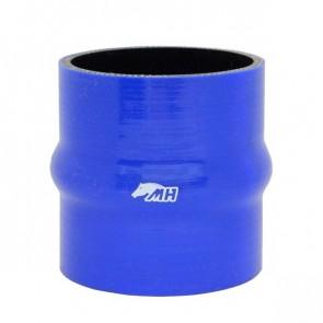 """Mangote em Silicone Reto com Hump 3-1/2"""" polegadas (89mm) x 100mm - Azul"""