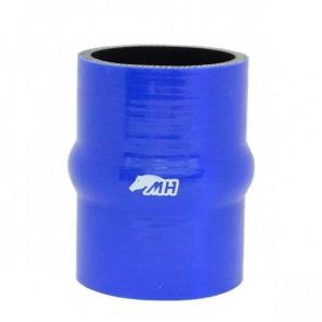 """Mangote em Silicone Reto com Hump 2-1/2"""" polegadas (63mm) x 100mm - Azul"""