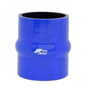 """Mangote em Silicone Reto com Hump 3"""" polegadas (76mm) x 100mm - Azul"""