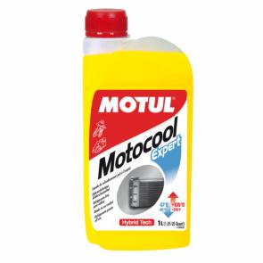 Fluído para Radiador de Motos Motul Motocool Expert (pronto para uso) 1L