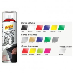 Película Liquida MP30 Spray Amarelo Luminoso - Mundial Prime 500ml