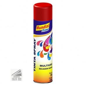Tinta Spray Cromado Multiuso de Secagem Rápida