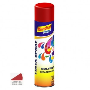 Tinta Spray Vermelho Multiuso de Secagem Rápida