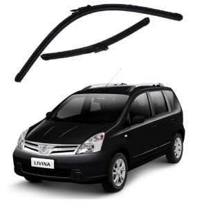 Kit Palhetas para Nissan Livina Ano 2008 - Atual