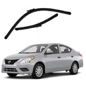 Kit Palhetas para Nissan Versa Ano 2011 - Atual